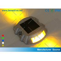 Wholesale Flashing Solar Barricade Lights Aluminum Shell LED Road Barrier Light With All Night Illumination 10T Resistance from china suppliers