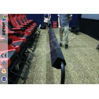 Quality Luxury Spacecraft 4D theater System , 4D Movie Equipment With Pvc And Real Leather 4Dof Motiom Chairs for sale