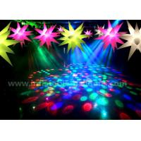 Wholesale Ceiling Decoration Inflatable Lighting Balloon / Inflatable LED Christmas Stars from china suppliers