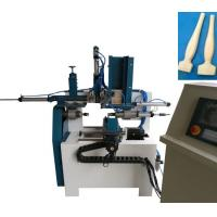 Wholesale Painting brush wooden handle making machine KC1230A full automatic for rounding the end of wooden handle from china suppliers