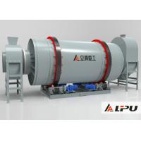 Three Cylinder Industrial Drying Equipment For Quartz Powder , Sand Dryer