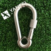 Buy cheap DIN5299A Stainless Steel Snap Hook With Eyelet from wholesalers