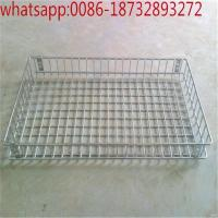 Wholesale Food Grade Stainless Steel Wire Mesh Basket/Metal Wire Mesh Baskets / Storage Metal Baskets/food wire mesh basket factor from china suppliers