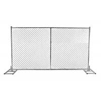 Wholesale High quality 6ft x 12ft 6ft x 10ft galvanized temporary chain link panels for temporary tree protection from china suppliers