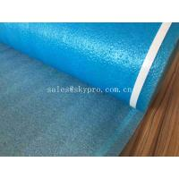 Wholesale Customized Blue High Absorbent Rubber Sheet Roll EPE Foam Sheet REACH / SGS from china suppliers
