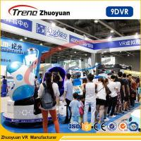 Wholesale 220v Virtual Reality Double 9D VR Cinema Single / Triple / Double Passenger CE from china suppliers