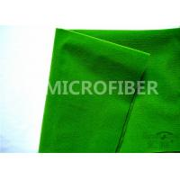 Wholesale 100 Polyester Adhesive Green Velcro Loop Fabric For Velcro Tape , OEM Available from china suppliers