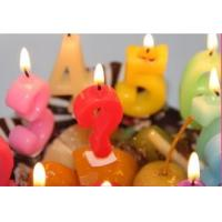 Wholesale Newest style hot selling flameless number birthday candle handmade candles from china suppliers