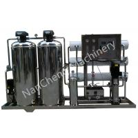 Buy cheap Automatic / Manual Pure Water Purification Systems Stainless Steel Machine Frame from wholesalers