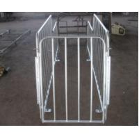 China Steel Sow / Pig Gestation Crates Hot Dip Galvanized Surface 2.2 * 0.6m on sale