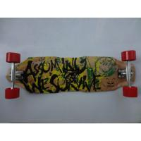 Quality Customized 34.15*9.6 Inch Chinese Maple Wooden Skateboard for Kid Mini Graphic Skateboard for sale
