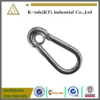 Wholesale cheap and good quality din5299 snap hook suit for steel wire rope metal hardware from china suppliers