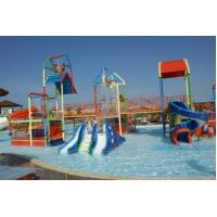 Wholesale Outdoor Kids Water Playground With Water Curtain , Water Theme Park from china suppliers