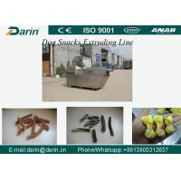 Wholesale SUS304 Material Dog Snacks / Pet Treats Dog Food Extruder Machine with WEG Motor from china suppliers