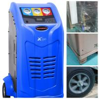 China Bus Large Refrigerant Recovery Machine Big Gauge Cover 1000W Input Power on sale