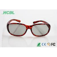 Wholesale Clip on Virtual reality Readl 3d glasses circular polarization for cinema use from china suppliers