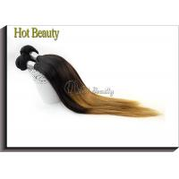 Wholesale Peruvain Silk Straight Ombre Human Hair Extensions No Shedding SGS BV from china suppliers