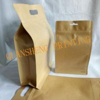 Quality moisture proof resealable aluminum foiled coffee bag with valve , coffee kraft paper packaging bag with for sale