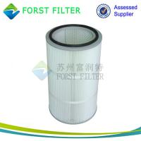 Wholesale FORST Manufacturer Ployester Air Filter Pleated Air Filter Cartridge for Dust Collection from china suppliers