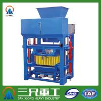Wholesale good performance low energy consumption block and brick making machine from china suppliers