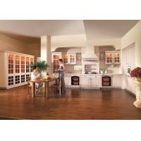 Wholesale Sycamore Solid Wood Kitchen Cabinets European Style For Home / Hotel / Apartment from china suppliers