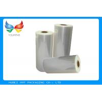 Wholesale Plastic Heat Shrink Film , OPS Shrink Sleeve For Bottle Automatic Packing from china suppliers