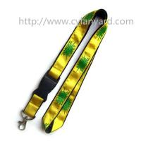 Wholesale Custom satin lanyards, double-layer satin ribbon lanyards, from china suppliers