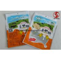Wholesale Cheese Stand Up Aluminum Foil Bags with Window Food Grade Material FDA / ROHS / ISO from china suppliers