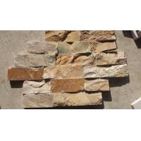 Wholesale Yellow Quartzite Field Stone Natural Quartzite Stone Cladding Quartzite Corner Stone from china suppliers