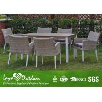 Wholesale ISO9001 Approvaled Factory Patio Furniture Dining Sets Modern Design Extension Table Set from china suppliers