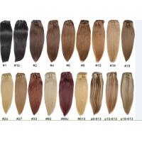 Wholesale Unprocessed Colored Human Hair Extensions , Colored Hair Weave from china suppliers