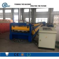 Wholesale 0.8-1.2mm Concrete Use Galvanized Steel Floor Deck Roll Formig Machine With Embossing from china suppliers