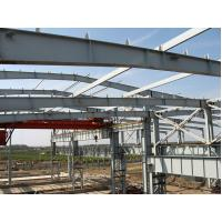 Wholesale Q235, Q345 Prefab Industrial Steel Buildings Fabrication For Portable House from china suppliers