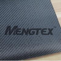 Wholesale carbon fiber fabric with silvery glitter twill from china suppliers