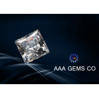 Wholesale Charles Colvard Square Cut White Moissanite , Synthetic Moissanite from china suppliers