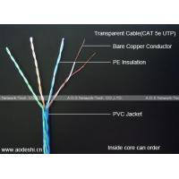 Wholesale Transparent Communication Cable (Cat 5e UTP) from china suppliers