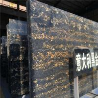 Wholesale Portoro Gold Marble Stone Slab , Italian Marble Slab CE Certification from china suppliers