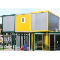Wholesale Vinyl Sheet  Steel Structure Building 6055mm x 2435mm x 2790mm for Classroom from china suppliers