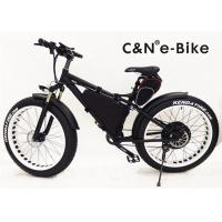Wholesale Brushless Hub Motor Electric Fat Tire Sand Bike With Self Charging Lithium Ion Battery from china suppliers