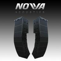 "Wholesale Dual 10"" 16Ohm Audio Music Sound System Line Array For Touring / Living Show from china suppliers"