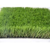 Wholesale 35MM Natural Looking Outdoor Artificial Grass For Gardens , Outdoor Synthetic Turf from china suppliers