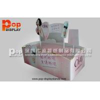 Wholesale Sturdy And Durable Cardboard Cosmetic Display Stands With Glossy & UV Coating from china suppliers