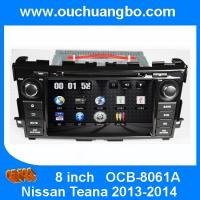 Wholesale Ouchuangbo Car Audio GPS DVD Player Nissan Teana 2013-2014 Auto Multimedia Radio System OCB-8061A from china suppliers