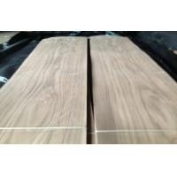 Wholesale Constructional Walnut Wooden Veneers , Crown Cut Thin Wood Sheets from china suppliers