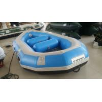 Wholesale Water Sport PVC Heavy Duty Inflatable Boat 3 Person With 3.3m Length from china suppliers