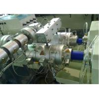 Quality Twin Screw Extruder Machine Plastic Pipe Making Machine For Water Pipe for sale