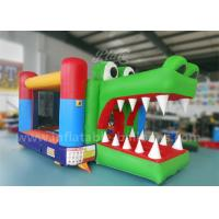 Wholesale 0.55 PVC Tarpaulin Inflatable Bouncy Castle / Bounce House For Kids Fireproof from china suppliers