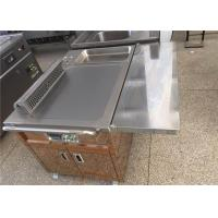 Buy cheap Teppanyaki grill table equipment,Rectangle Teppanyaki table used for Restaurant Hotel from wholesalers