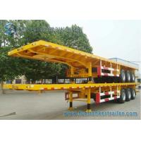 Wholesale 45 Feet Container Flatbed Semi Trailer , Capacity 40 T 45 Ton Trailer from china suppliers
