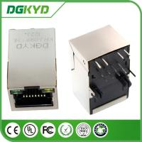 Wholesale KRJ-098FCNL single port 10 / 100 BASE-T Integrated magnetic RJ45 Jack Shielded with LED from china suppliers